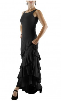 Maura Flamenco Long Dress