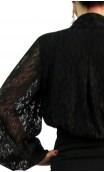 Camisa KARIMA Encajes Tipo Malla