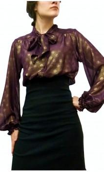 Golden Touch CARMEN Crepe Leotard-Shirt