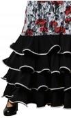Vestido Renda Jardín Flamenco