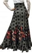 Falda Guadalupe Estampada