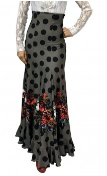 Printed Guadalupe Long-Skirt