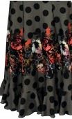 Printed Guadalupe Long-Skirt